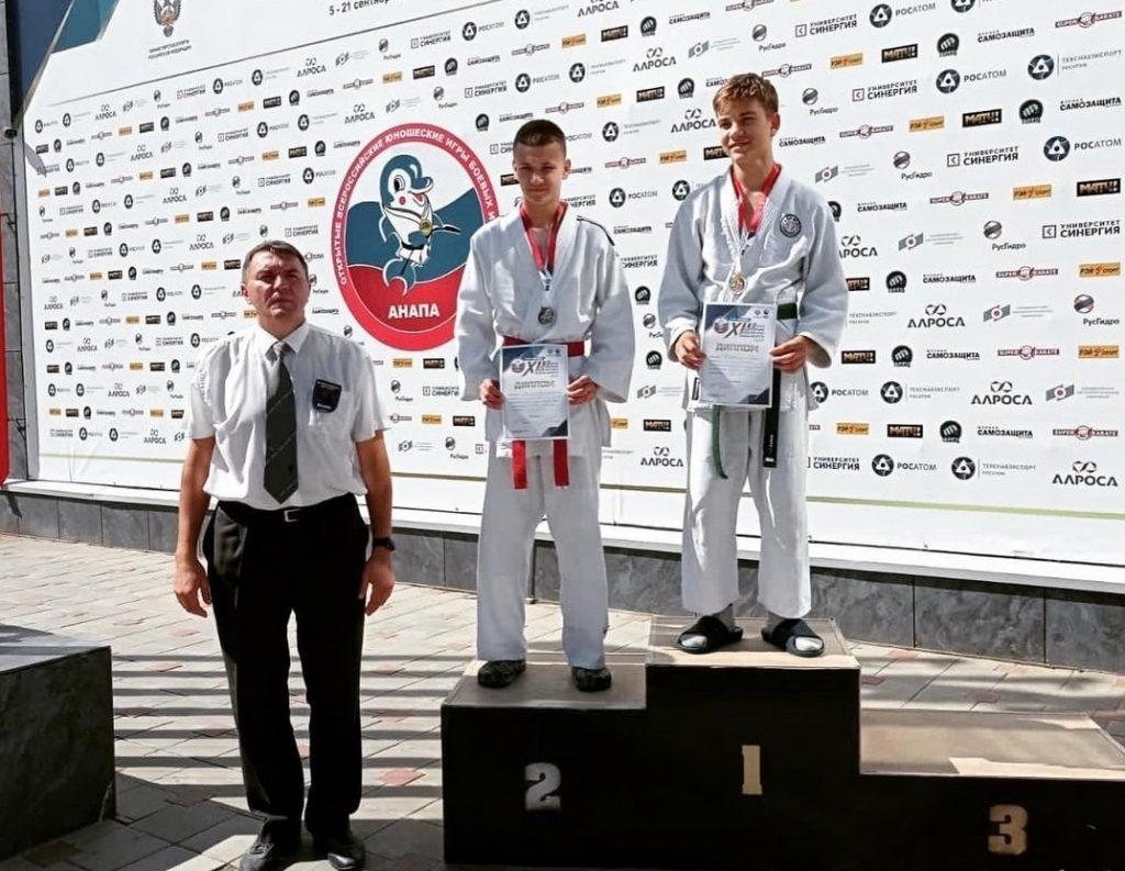 Воспитанники спортшколы №47 поучаствовали на Всероссийском турнире по боевым искусствам