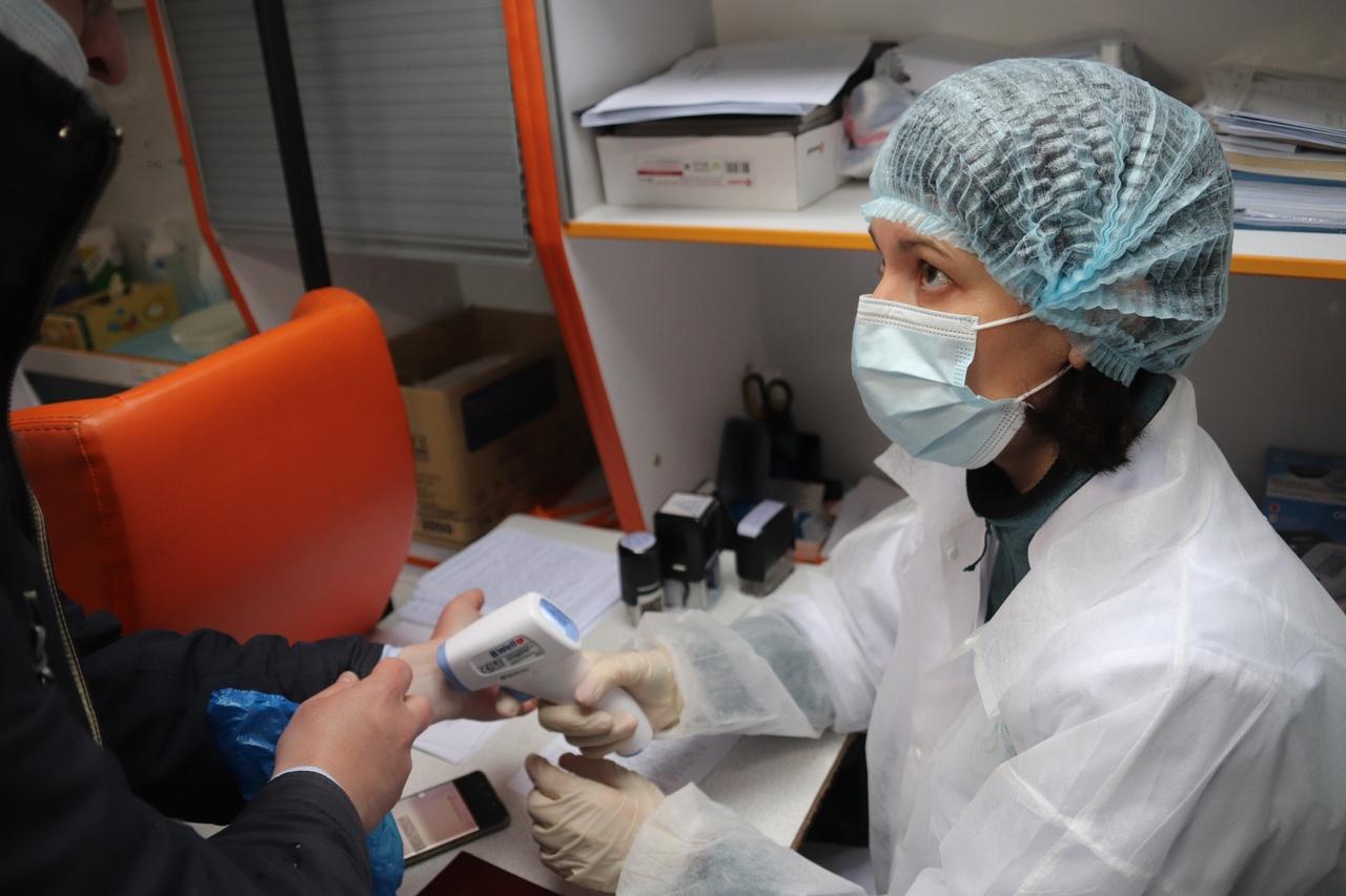 Мобильный пункт вакцинации от гриппа открыли в Орехове-Борисове Южном