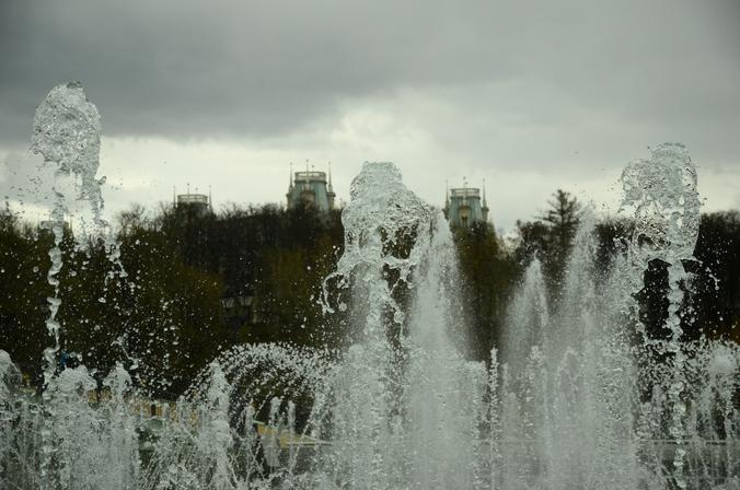 Сезон работы фонтанов завершится в октябре