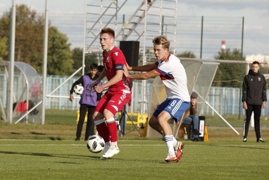 Футболист из клуба «Чертаново» отыграл два матча  в юношеской сборной России