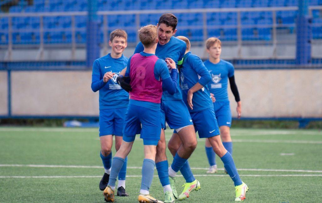 Сине-белые выиграли в четвертьфинале Кубка Российского футбольного союза