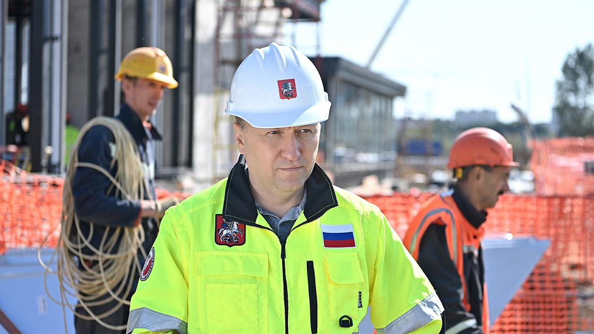 Андрей Бочкарев: Участок Троицкой линии метро от «Новаторской» до станции «Мамыри» готов на 42 процента