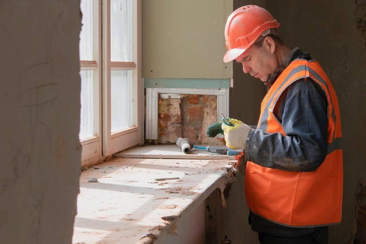 Капитальный ремонт исторического задания на юге Москвы завершится в ноябре