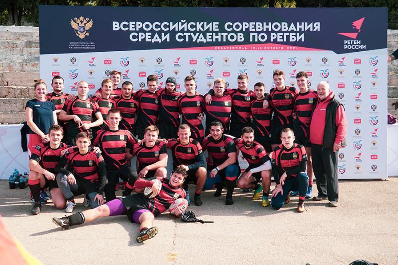 Четвертое место на всероссийских соревнованиях по регби занял НИЯУ МИФИ