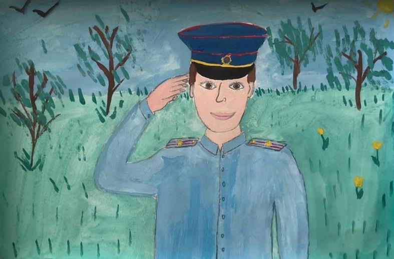 Члены Общественного совета при УВД по ЮАО приняли участие в отборочном этапе Всероссийского конкурса детского рисунка