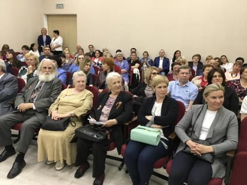 Мэр Москвы Сергей Собянин встретился с жителями ЮАО 15 мая 2018 года. Фото: Мария Иванова